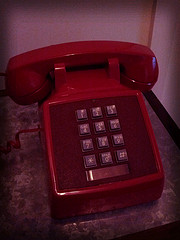 A red phone by Gilles Douaire http://is.gd/WZEoFQ